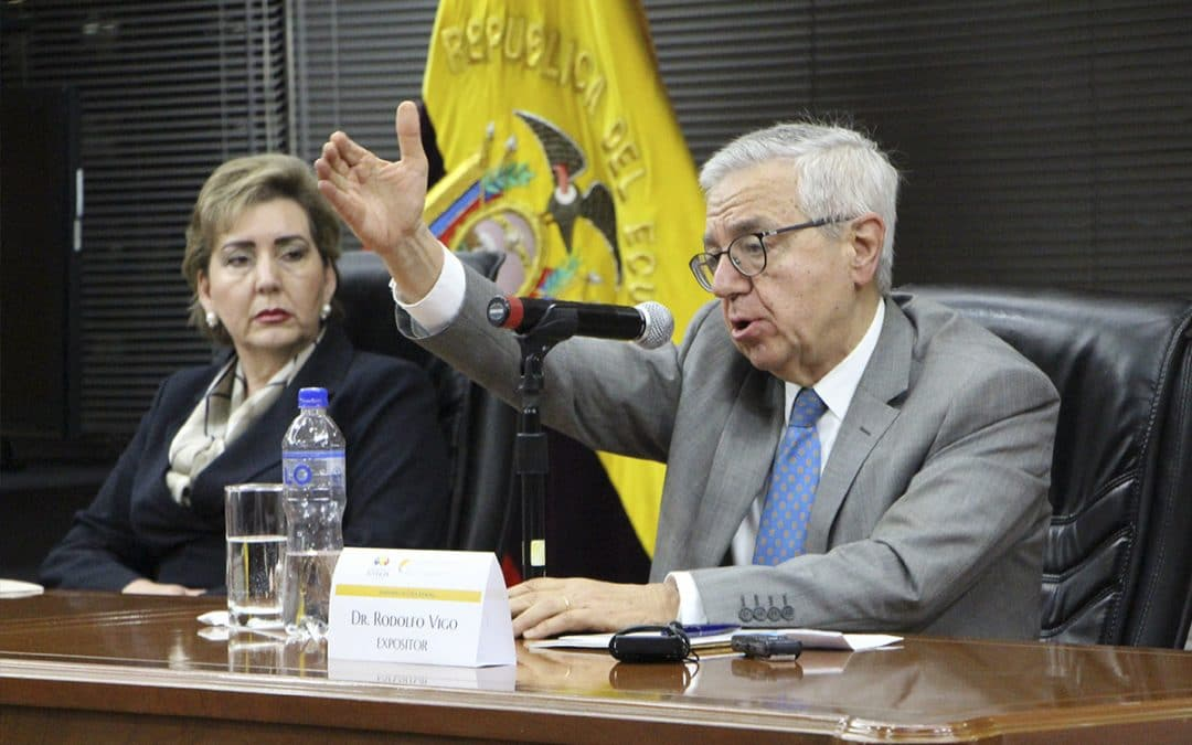 Se realizó con éxito el Seminario de Ética Judicial organizado por la CNJ y la Universidad de Los Hemisferios