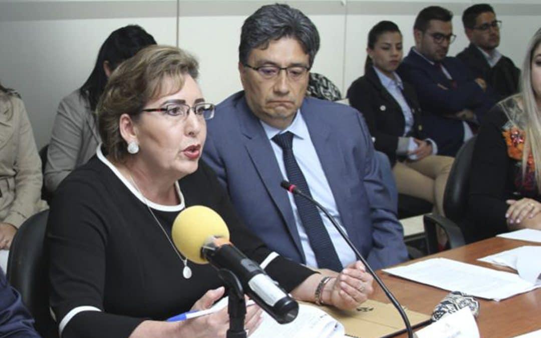 Presidenta de la CNJ presentó observaciones a las Reformas al COFJ en la Comisión de Justicia de la Asamblea en materia anticorrupción