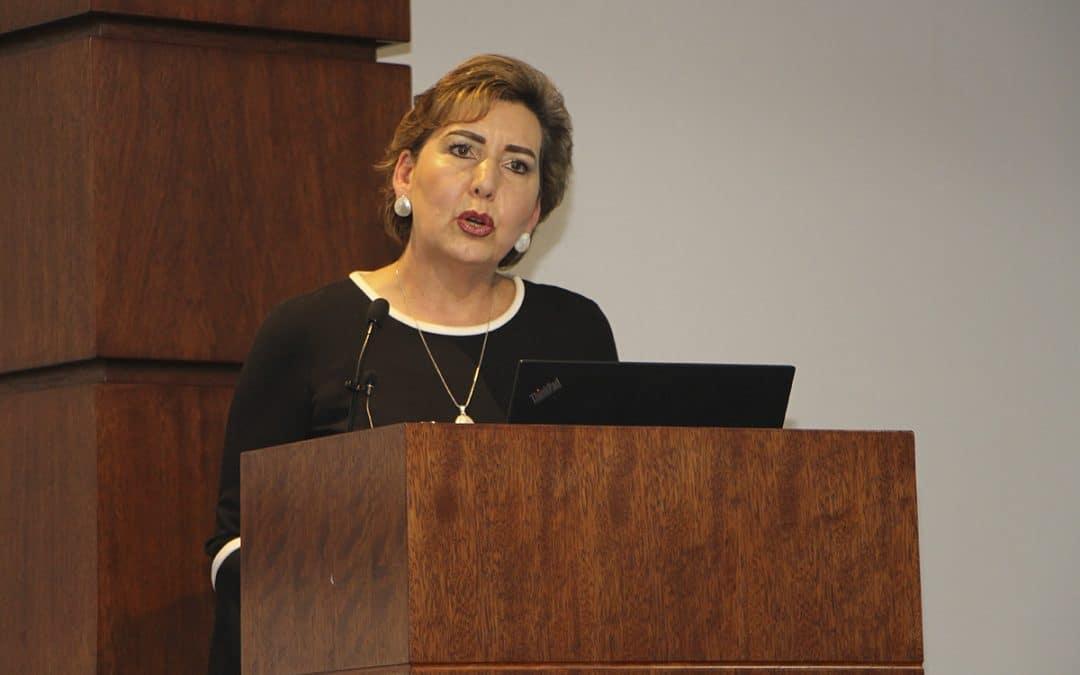 Presidenta de la CNJ abordó los retos de la mujer en la Función Judicial en evento organizado por WIP Ecuador