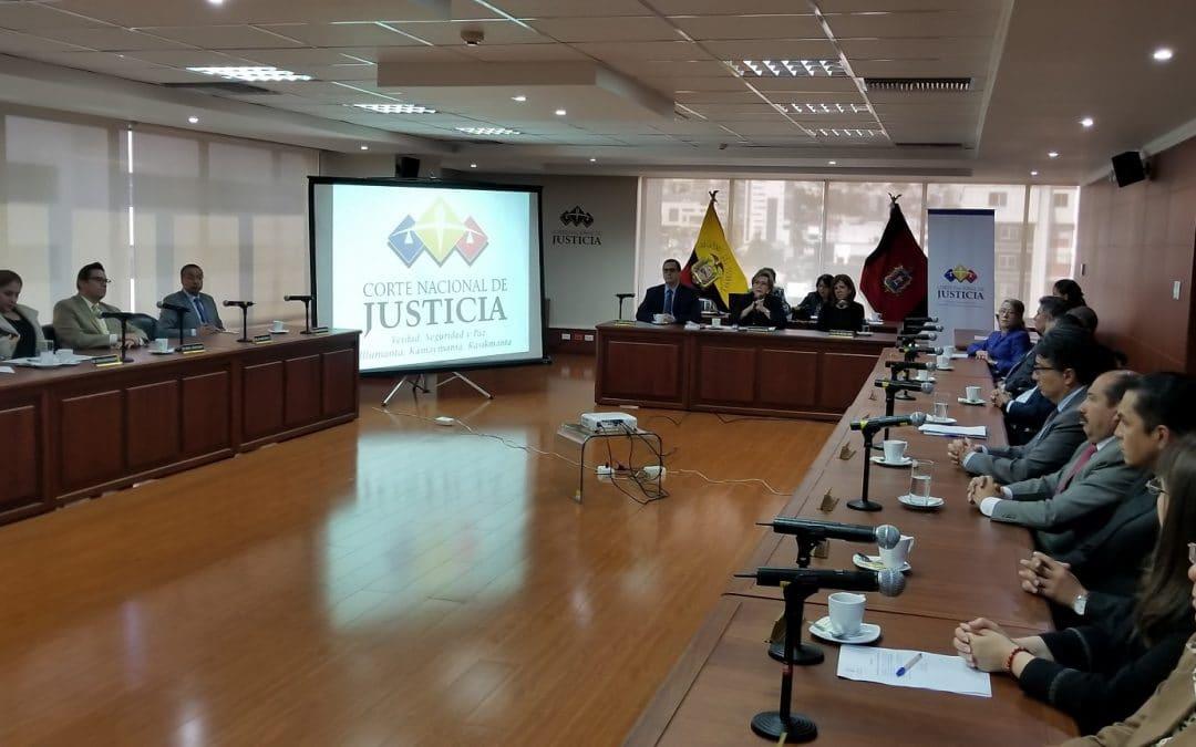 Pleno de la CNJ se pronuncia en defensa de la institucionalidad