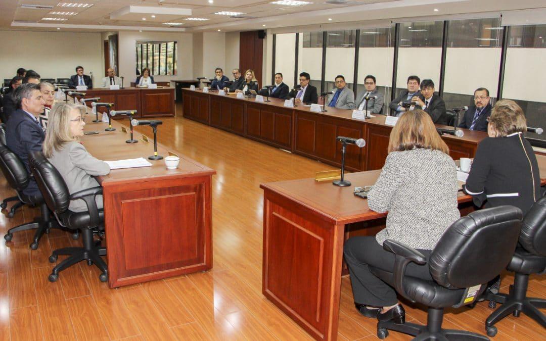Presidenta de la CNJ se reúne con Presidentes de Cortes Provinciales para coordinar trabajo conjunto