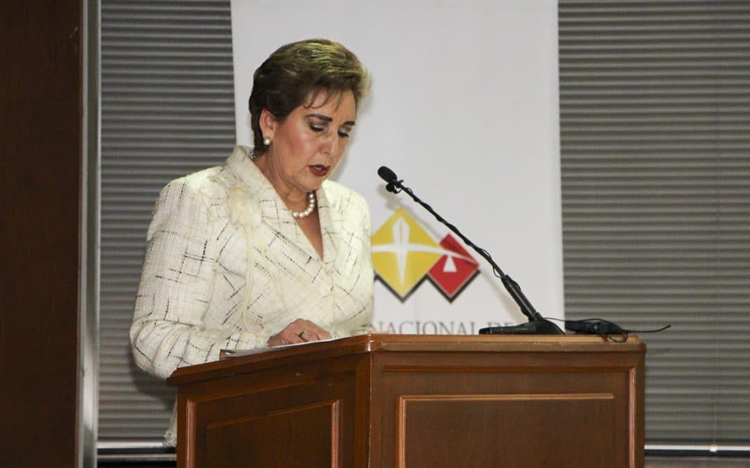 Presidenta de la Corte Nacional de Justicia presentó resultados de su primer año de gestión institucional