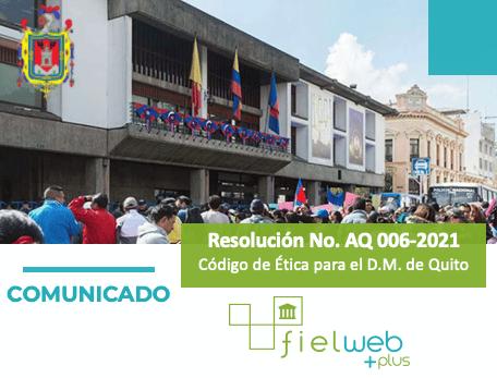 Resolución No. AQ 006-2021 – Boletín Jurídico